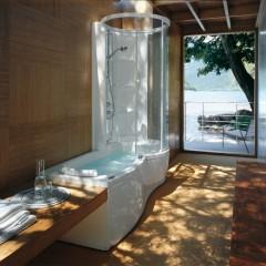 Baignoire douche spa : une combinaison simple