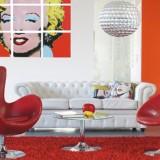 Idée de décoration tendance pour un salon