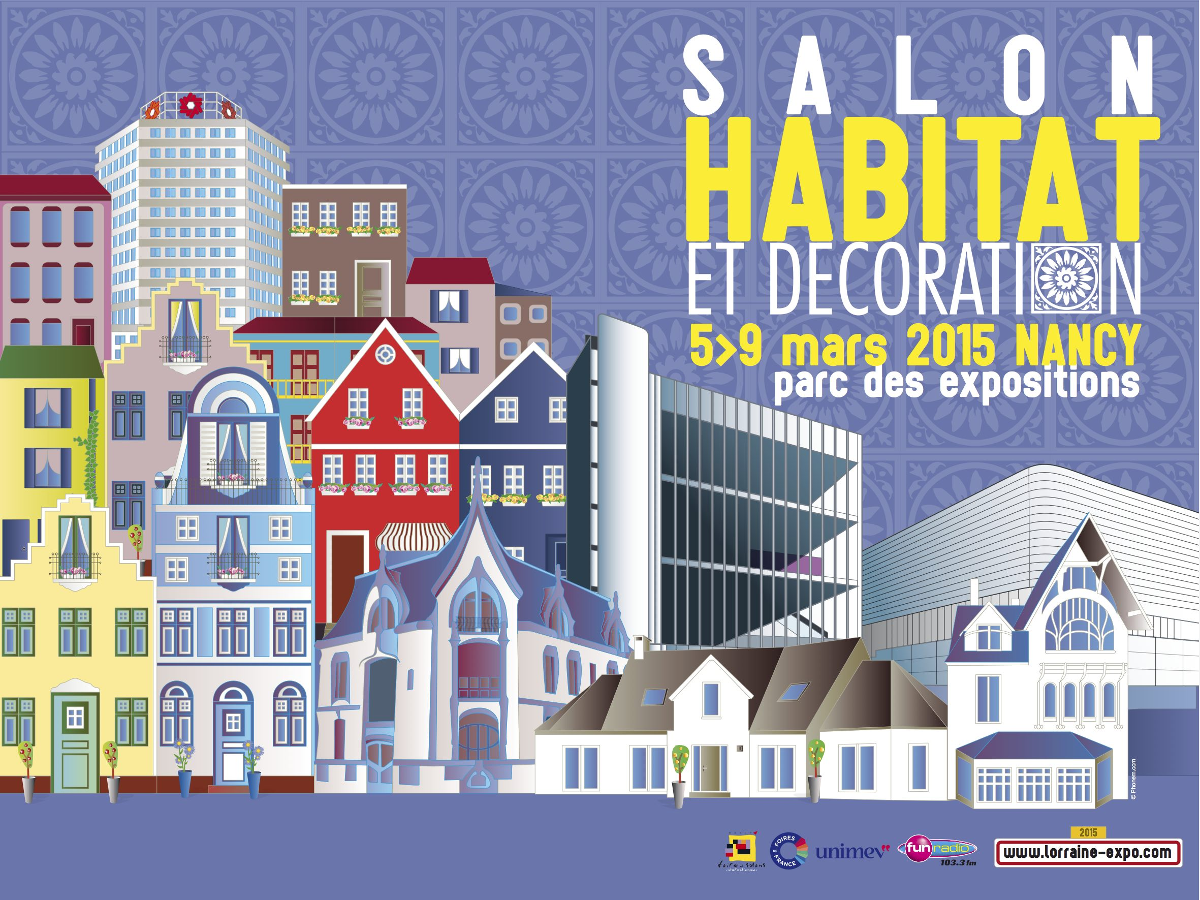 Salon de l habitat et de la d co 2015 nancy plus de 220 for Deco habitat